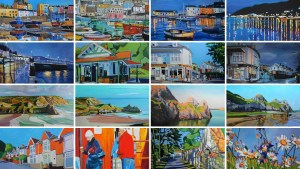 Paintings of Tenby, Gower and Swansea