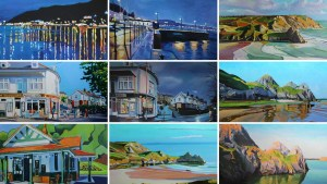 Gower paintings