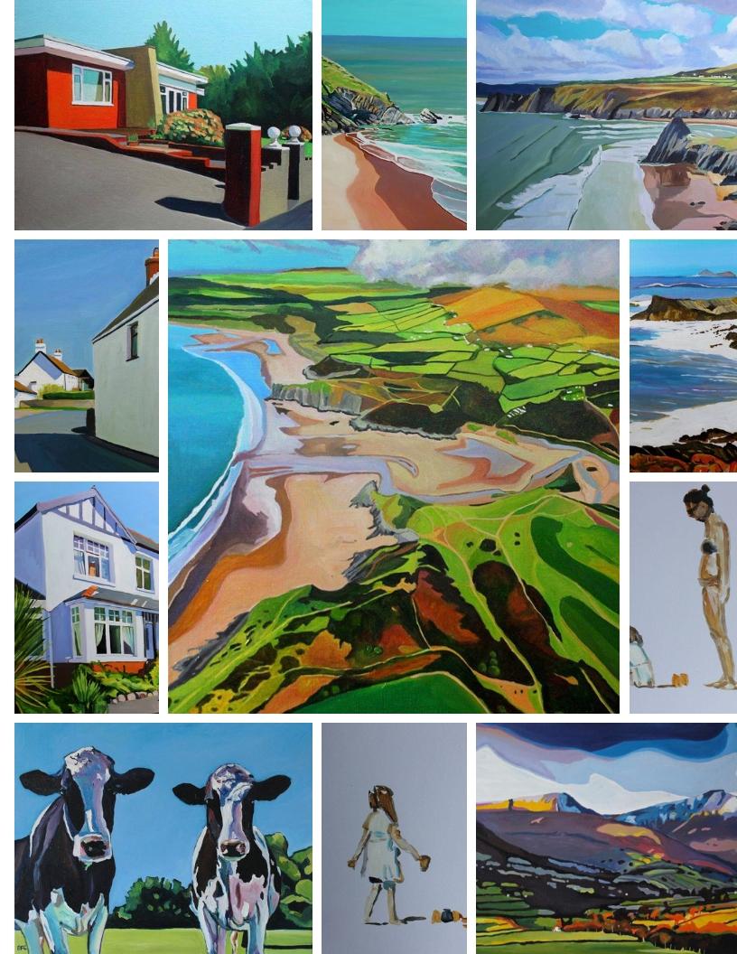 Oil paintings of Wales