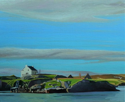Donegal painting of landscape