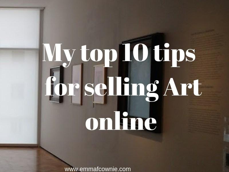Selling Art online