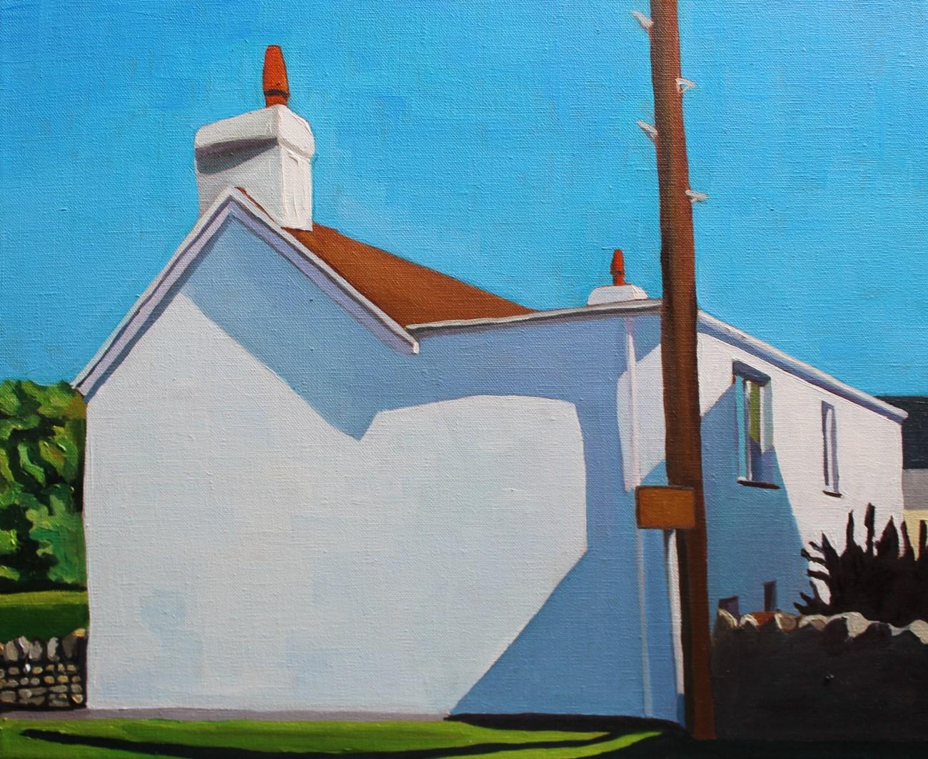Painting of Port Eynon, Gower