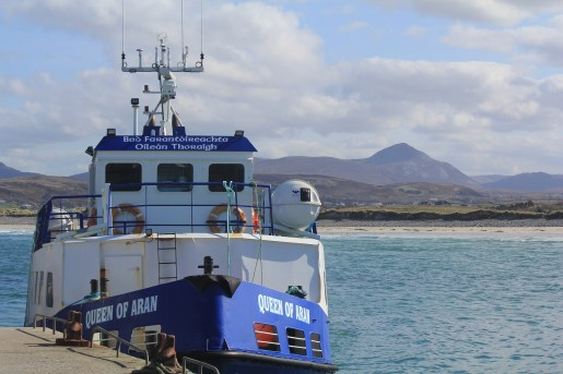 Queen of Aran Ferry at Magheraroarty