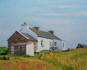 Donegal painting house Gola