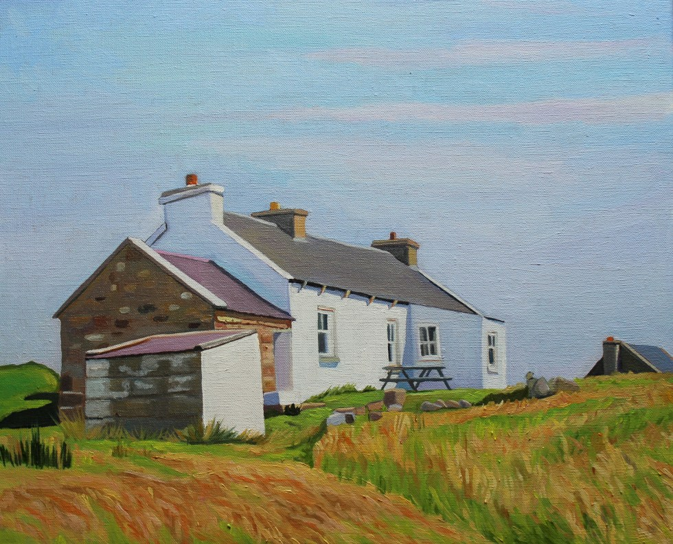 Donegal painting Gola