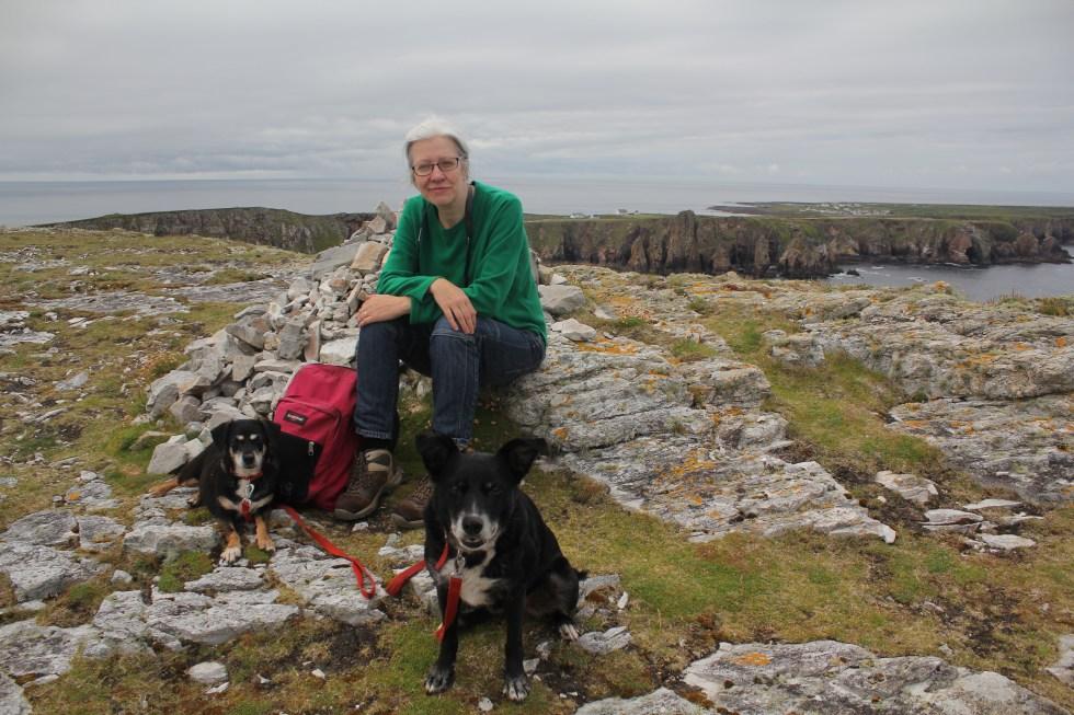 On Dun Bhaloir, Tory Island
