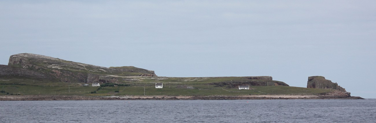 One of the tors of Tory Island