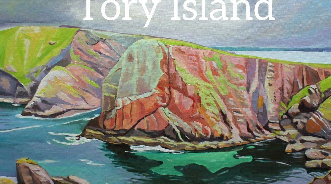 Tory Island Donegal, paintimng by Emma Cownie