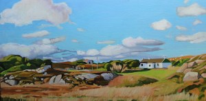 Painting of Donegal landscape, Ireland_EmmaCownie
