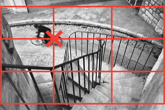 Rule of Thirds - Henri Cartier Bresson