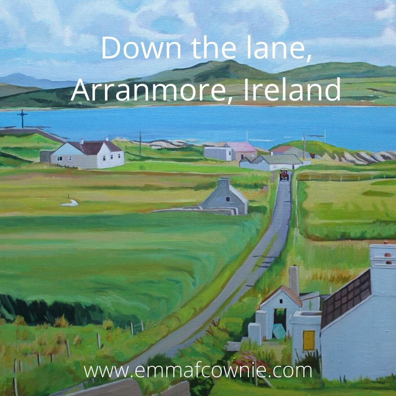 Down the lane, Arranmore, Ireland
