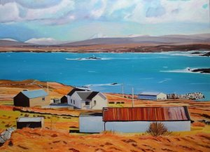 Landscape painting Donegal