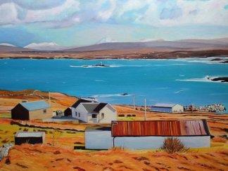 Landscape painting Donegal