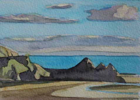 Three Cliffs
