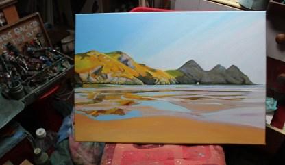 On Three Cliffs Beach_Emma Cownie