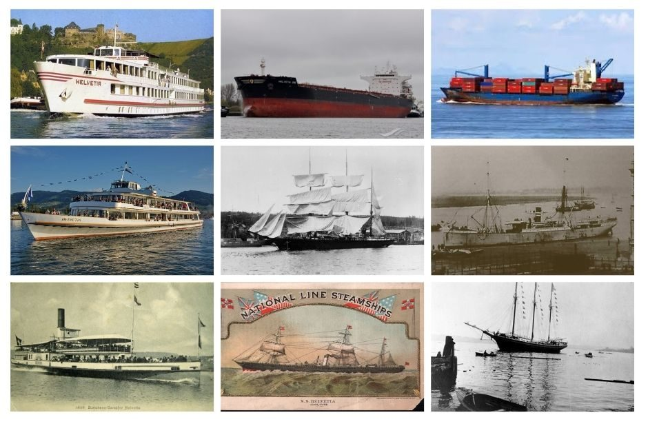 Helvetia is a popular name for ships