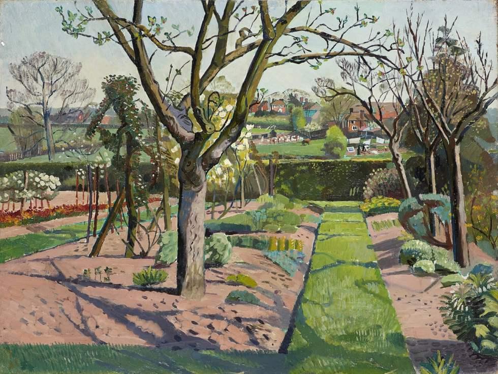 A Sussex Gaden 1939 _Evelyn Dunbar