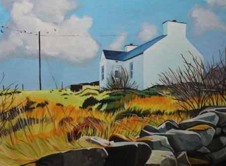 Cottage on Arranmore,Donegal by Emma Cownie