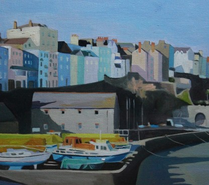 Tenby in the winter light_Emma Cownie