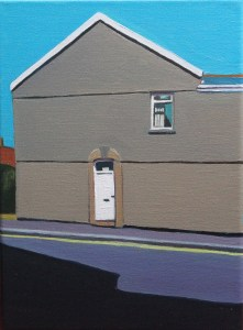 Painting of Brynmill Swansea