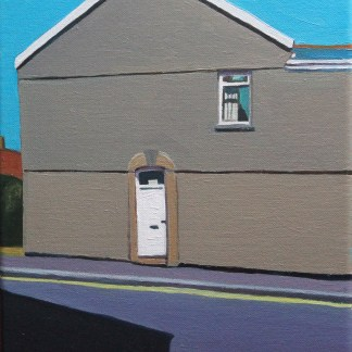 Painting of Brynmill Swansea