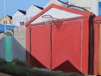 Backlane Basketball painting