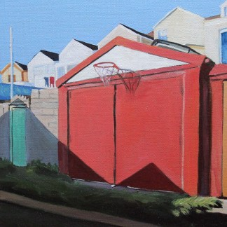 Backlane Basketball painting