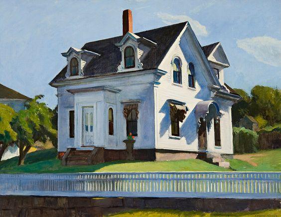 Edward Hopper - Hodgkin's House, Cape Ann, Massachusetts