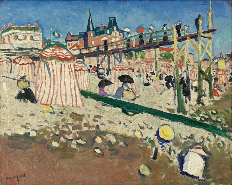 Albert Marquet, Fécamp