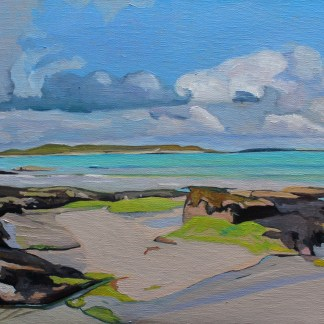 View from Dunmore Strand (Donegal)