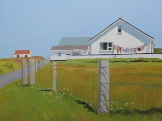 Painting of Irish house in Donegal