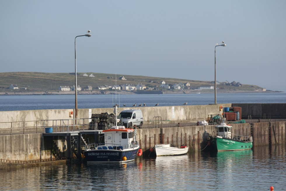 Magheroarty Pier (Inishbofin is in the distance)