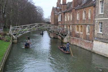 Mathematical Bridge, Queens' College, Cambridge