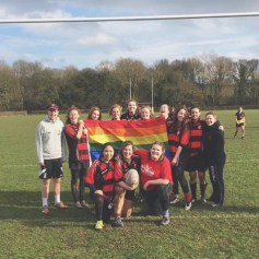 CCWRFC (Collingwood College Women's Rugby Football Club) after my second (?) ever match