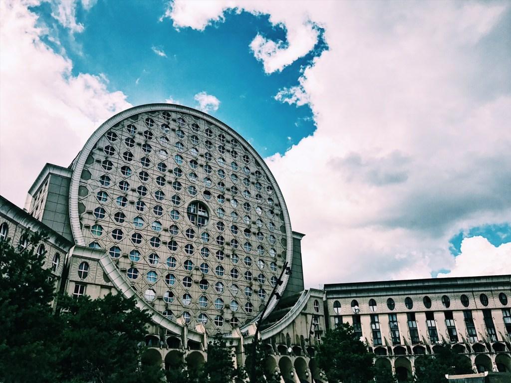 Noisy-le-grand-Les-Arènes-de-Picasso-Circular-Architecture