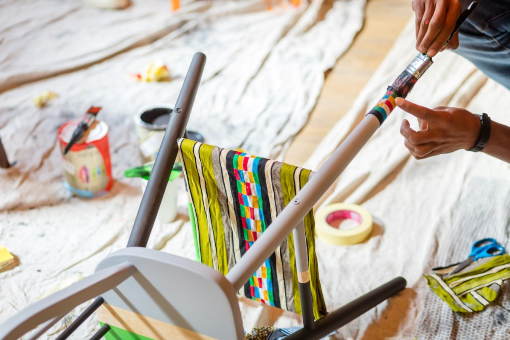 London-Design-Festival-Yinka-Ilori-Restoration-Station-Workshop-Nigerian