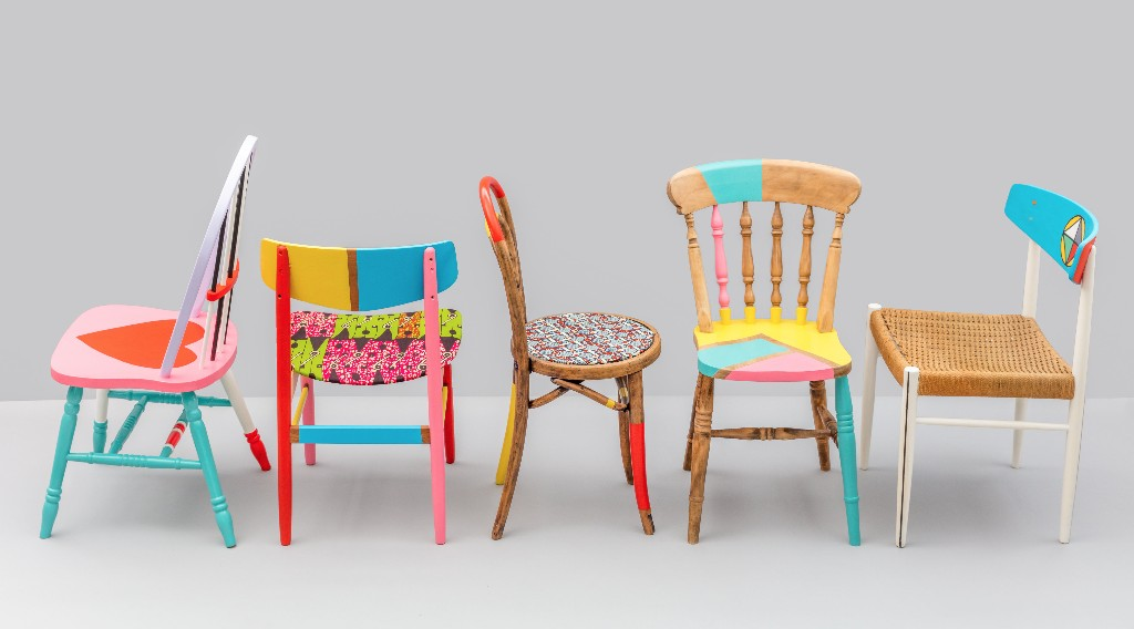 London-Design-Festival-Yinka-Ilori-Restoration-Station-Workshop-Chairs