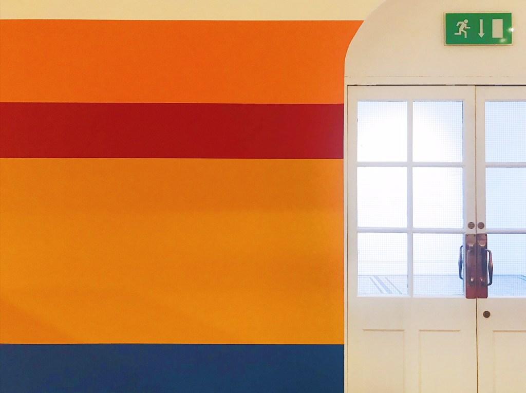 Emma-Jane-Palin-Weekly-Wall-Nathalie-du-pasquier-camden-arts-centre-rainbow