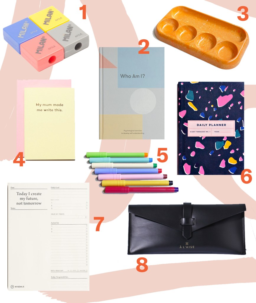 Colourful Gifts for the stationery obsessed
