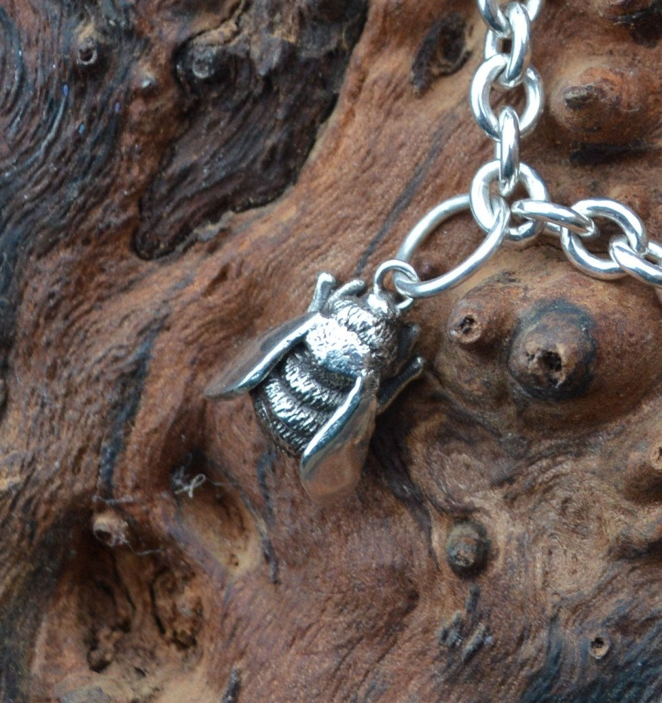 Bumble Bee Charm - Emma Keating Jewellery