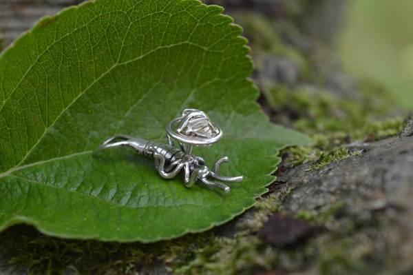 Earwig Lapel Pin 1 - Emma Keating Jewellery