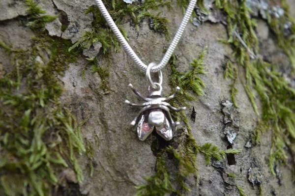 House Fly Pendant 3 - Emma Keating Jewellery
