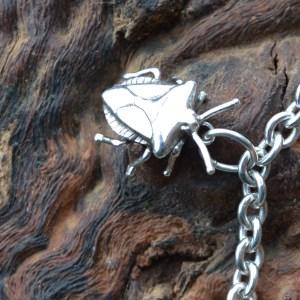 Shieldbug Charm 1 - Emma Keating Jewellery