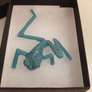 Tree Frog early wax - Emma Keating Jewellery