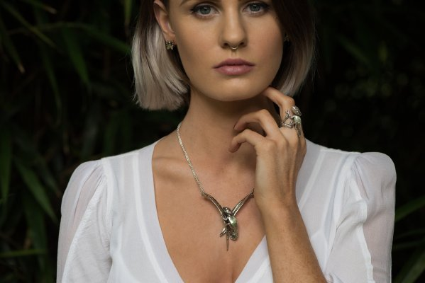 Chameleon Necklace - Emma Keating Jewellery CW2