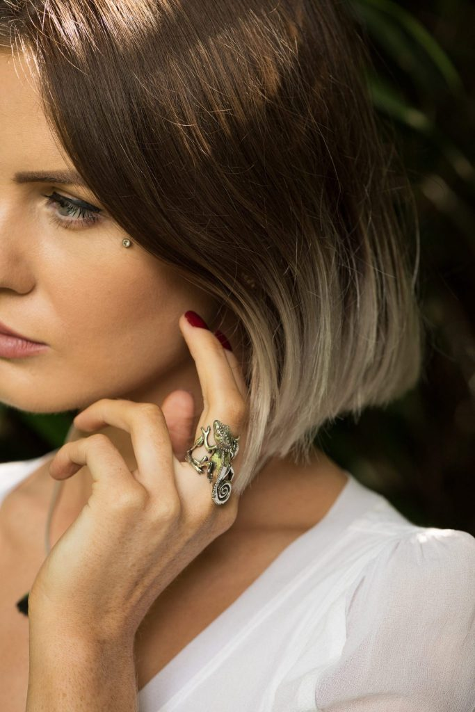 Chameleon RIng - Emma Keating Jewellery CW2