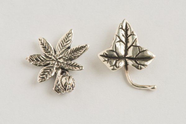 Chestnut & Ivy Leaves - Emma Keating Jewellery CW