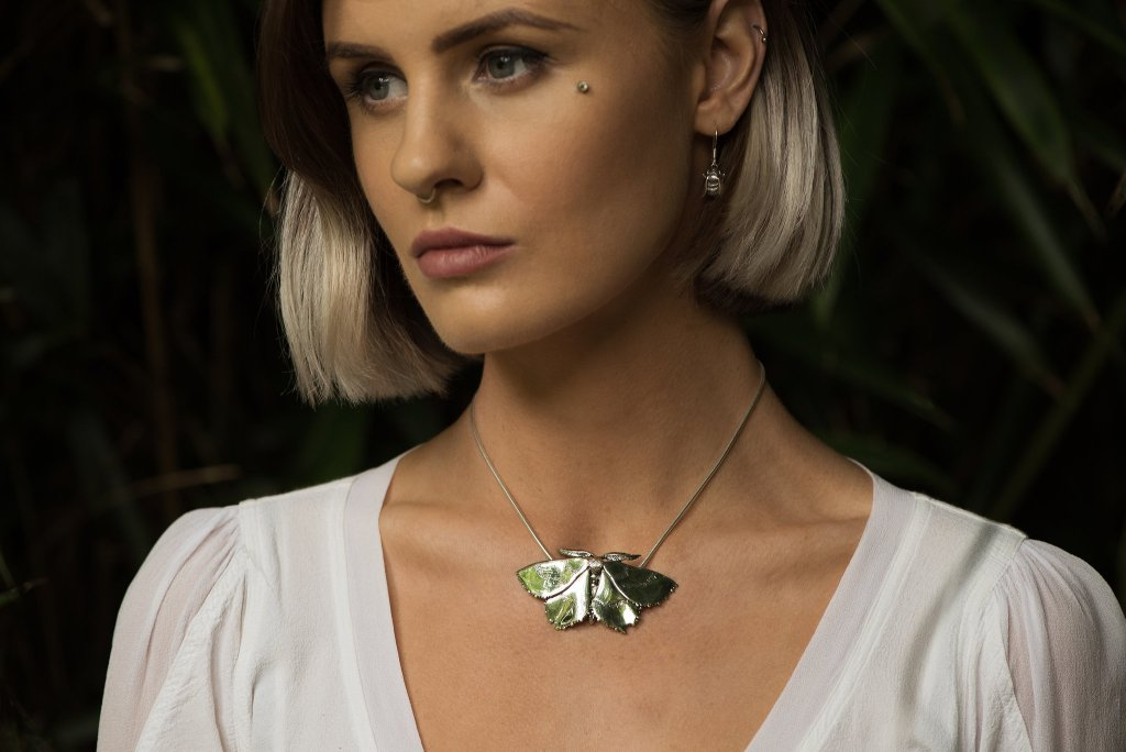 Emerald Moth - Emma Keating Jewellery CW2