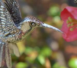 Hummingbird Pendant 2 - Emma Keating Jewellery