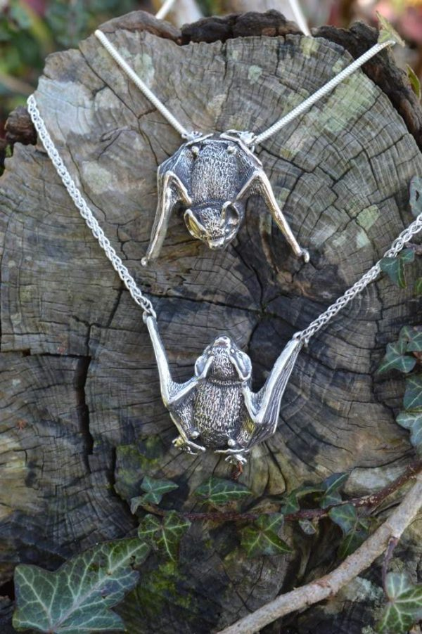 Pipistrelle Bats - Emma Keating Jewellery